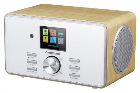 Grundig DTR 5000 DAB+ BT WEB Oak - Digital Radio