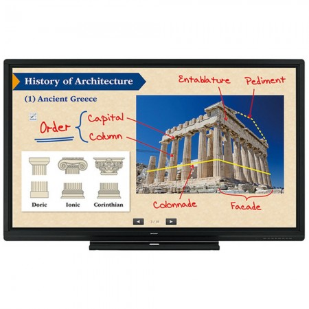 """Sharp PN-80SC5 - 80"""" LCD-Touch-Display"""