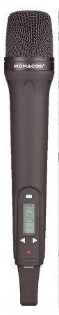 Monacor TXA-800HT Handmikrofon inkl. Multi-Frequenz-Sender