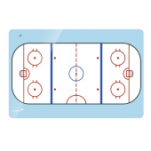 Legamaster Whiteboard ACCENTS Eis-Hockeyfeld 30x40 cm