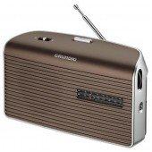 Grundig Music 60 - Portables Radio - braun/silber