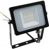MONACOR LDFS-10/WWS LED-Flutlichtstrahler, ~230V/10W, 750 lm, IP65