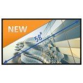 "Legamaster e-Screen STX-5810 - 58"" Touch-Display - black"