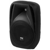 IMG STAGELINE PAK-10DMP Aktive DJ- und Power-Lautsprecherbox, 80W