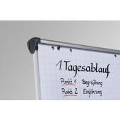 Legamaster Flipchart Papier kariert 98 x 65 cm Rolle mit 20 Blatt - 5 Rollen - 5 x 20 Blatt