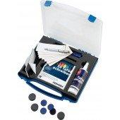 FRANKEN WWT Starter-Set 10 Marker 1 Laserpointer 10 Magnete 250 ml Reinigungsspray 1 Tafelwischer