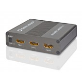 Oehlbach ULTRAHD Switch 3:1 HDMI Switcher, 3 X 1