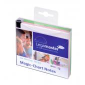 Legamaster Magic-Chart Notes, 10x10cm 300 Stück, 3 verschiedene Farben