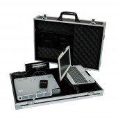 MultimediaCase Slim DynaVision leichter Koffer inkl. Soundbar für Beamer und Notebook ca. 11kg