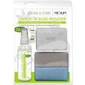 Linsen- & Glas-Reiniger 100ml - Clean&Care für Beamer Visualizer und Overheadprojektoren