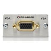 Oehlbach VGA (15pin HD) Anschlussfeld, Kabelpeitsche, Buchse/Buchse