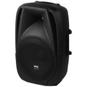 IMG STAGELINE PAK-12DMP Aktive DJ- und Power-Lautsprecherbox, 90W