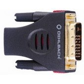 Oehlbach HDMI-DVI-Adapter HDMI/Bu. auf DVI/St.