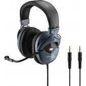JTS HPM-535 Stereo-Kopfhörer mit Elektret-Bügelmikrofon