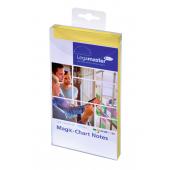 Legamaster Magic-Chart Notes, 10x20cm 100 Stück, gelb
