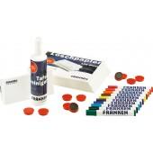 FRANKEN WWT StarterSet 2 10 Marker 100 Bl. Löschp. 10 Magnete 250 ml Reinigungsspray 1 Tafelwischer