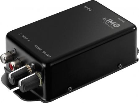IMG STAGELINE HPR-6 Leistungsfähiger Stereo-Kopfhörerverstärker