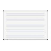 Legamaster Whiteboard PREMIUM Notenlinien 100x150cm