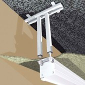 Projecta Ceiling bracket - Weiß - Elpro (RF) Electrol Cinelpro (RF) Electrol Advantage (Deluxe)