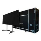 Optoma QUADShow - Befestigungskit (elektrische Hebevorrichtung, Flight-Case) für LCD-Display