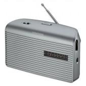 Grundig Music 60 - Portables Radio - silber