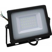 MONACOR LDFS-30/WS LED-Flutlichtstrahler, ~230V/30W, 2500 lm, IP65
