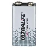 """MONACOR ULTRALIFE 9-V-Lithium-Blockbatterie, """"High-Energy"""""""