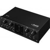 IMG STAGELINE MX-2IO USB-Recording-Interface (2-Kanal)