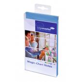 Legamaster Magic-Chart Notes, 10x20cm 100 Stück, blau